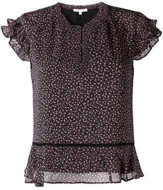 Rebecca Minkoff floral print blouse