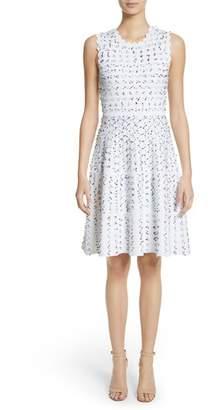 Lela Rose Knit fit & Flare Dress