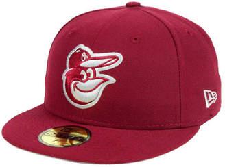 New Era Baltimore Orioles Cardinal Gray 59FIFTY Cap