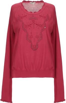 3d0a91cebe8 Fendi Red Women's Sweaters - ShopStyle