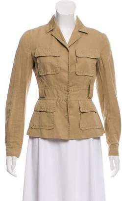 Philosophy di Alberta Ferretti Notch-Lapel Utility Jacket
