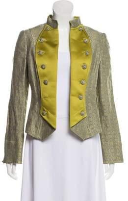 Armani Collezioni Wool Open Front Jacket