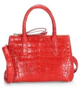 Nancy Gonzalez Mini Crocodile Top Handle Bag