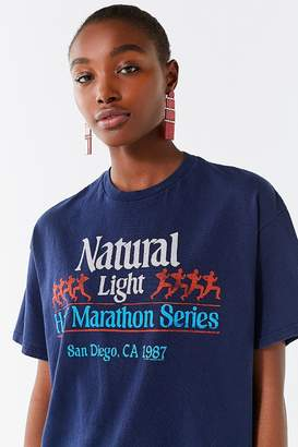 Junk Food Clothing Natural Light Marathon Tee