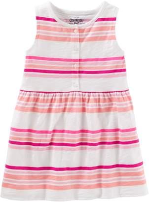 Osh Kosh Oshkosh Bgosh Girls 4-12 Striped Tunip Top