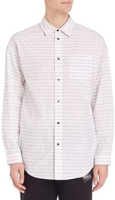 Alexander Wang Men's Long Sleeve Cotton Shirt
