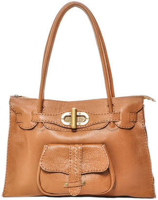 Carla Mancini Leather Shoulder Bag