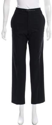 Gucci Mid-Rise Straight-Leg Pants