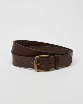 Abercrombie & Fitch 1 1/4-Inch Leather Belt