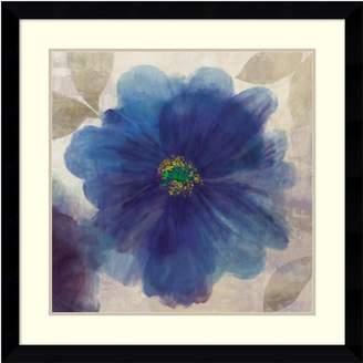 Amanti Art ''Indigo Dreams I'' Floral Framed Wall Art