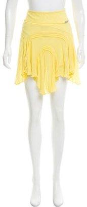 Karen Millen Asymmetrical Silk Skirt $50 thestylecure.com