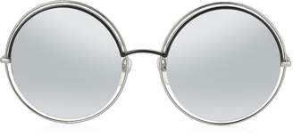 Marc Jacobs MARC 11/S Metal & Acetate Round Oversized Women's Sunglasses