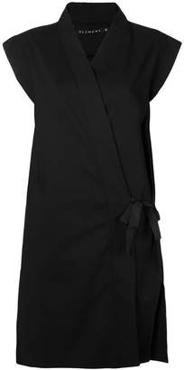 Alchemy longline wrap tunic