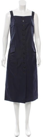 Marc JacobsMarc Jacobs Sleeveless Midi Dress