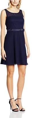 Vera Mont VM Women's Cocktail Sleeveless Dress - Blue - 6