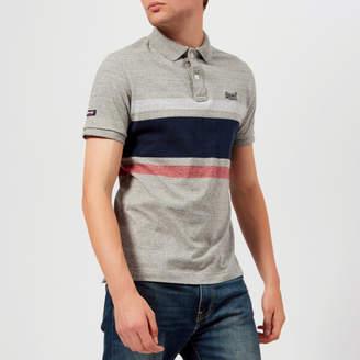 Superdry Men's Classic Hardwick Stripe Short Sleeve Polo Shirt