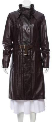 Louis Vuitton Leather Trench Coat