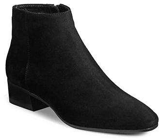 Aquatalia Fuoco Leather Booties