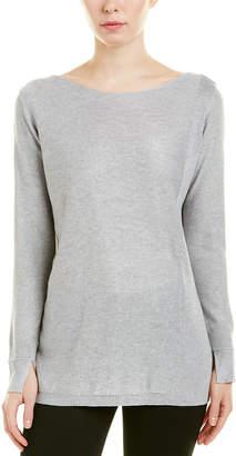 Halston Silk & Cashmere-Blend Sweater