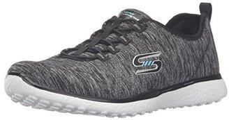 Skechers Sport Women's Microburst on the Edge Fashion Sneaker $34.99 thestylecure.com