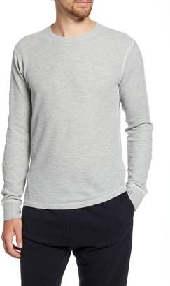 Billy Reid Standard Fit Thermal Crewneck T-Shirt