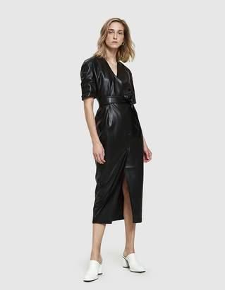 Nanushka Penelope Vegan Leather Dress