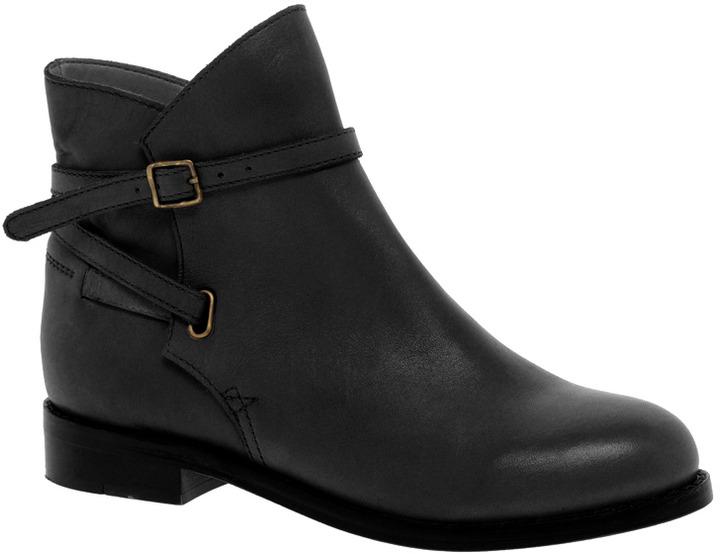 ASOS ALTITUDE Leather Jodhpur Ankle Boots