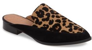 Women's Halogen Corbin Genuine Calf Hair Slide Loafer $89.95 thestylecure.com
