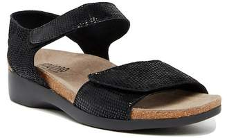 Munro American Catelyn Embossed Suede Sandal - Multiple Widths Available