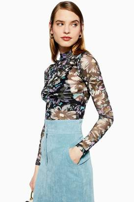 670e6bb088c Topshop Flower Top - ShopStyle