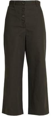 Proenza Schouler Cotton-Canvas Wide-Leg Pants
