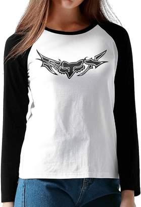 Fox Racing GUOZX Women's T-Shirts Long Sleeve Tshirt M