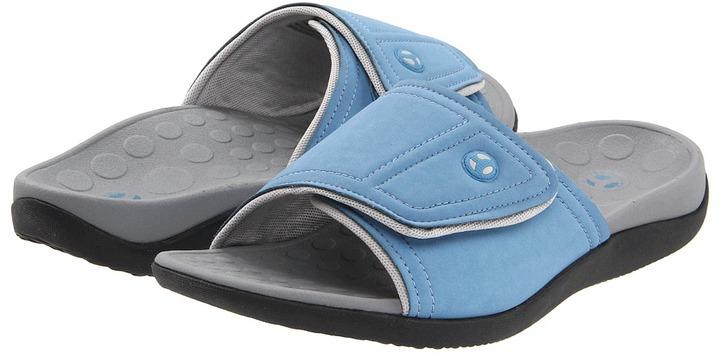 Orthaheel Kiwi Slide (Denim) - Footwear