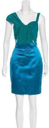 Gucci Colorblock Mini Dress