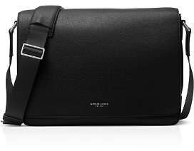 Michael Kors Pebbled Leather Messenger Bag