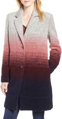Andrew Marc Ombre Two-Button Car Coat