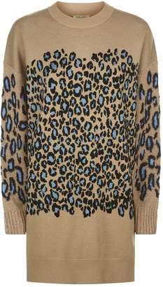 Kenzo Leopard Knit Dress
