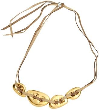 Bernardaud Gold Metal Necklace