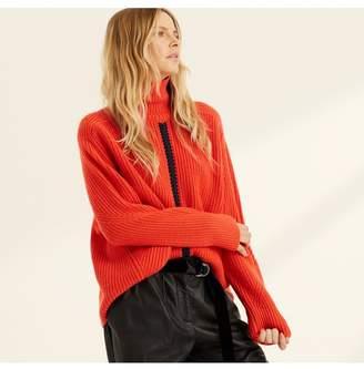Amanda Wakeley Black Cashmere Chunky Knit