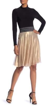 Petit Pois BY VIVIANA G Mesh Midi Skirt