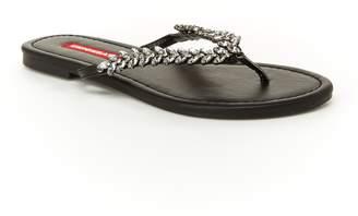 d234c616a893 UNIONBAY Easter Women s Rhinestone Thong Sandals