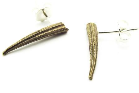 Georgia Varidakis Jewelry Tusk Studs