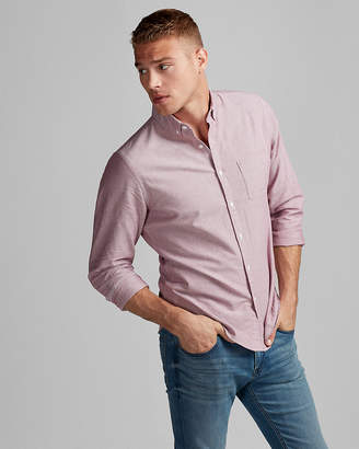 Express Slim Soft Wash Oxford Shirt