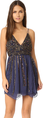 Free People Cassiopeia Embellished Mini Party Dress $350 thestylecure.com