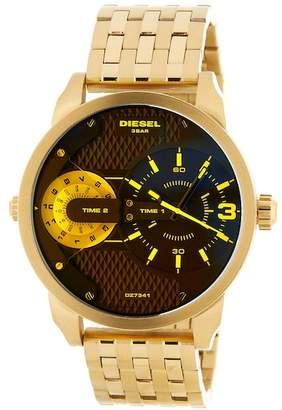 Diesel Men's Mini Daddy Bracelet Watch, 46mm x 54mm