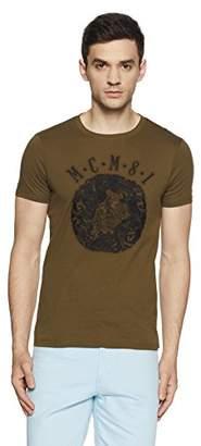GUESS Men's MCM Emblem Crew Neck T-Shirt