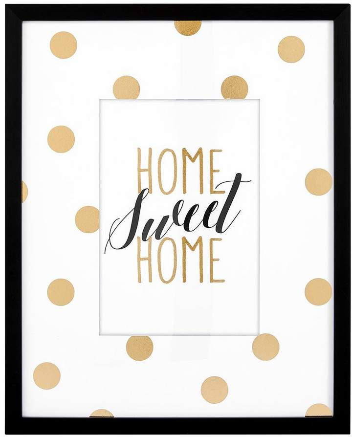 Ideal Home Glam Home Sweet Home Framed Wall Art