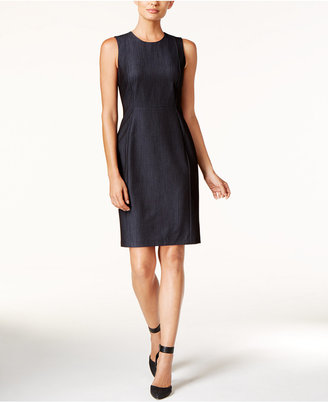 Calvin Klein Denim Sheath Dress $89.98 thestylecure.com