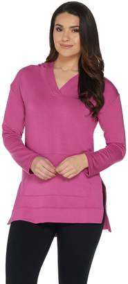 Cuddl Duds Ultra Soft Comfort Long Sleeve Hooded Tunic