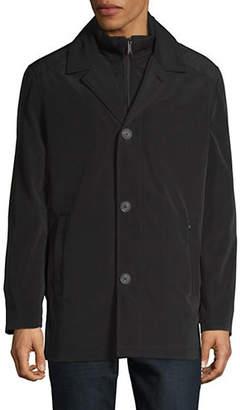 London Fog Classic Long-Sleeve Raincoat